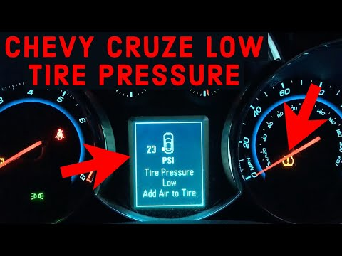 Chevy Cruze Low Tire Pressure - How To Fix