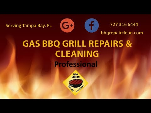 Gas BBQ Grill Repairs and Cleaning: Commercial