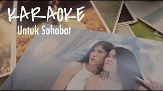 UNTUK SAHABAT - RENATA TOBING feat. TOHPATI (Official Karaoke Video) Piano Version.