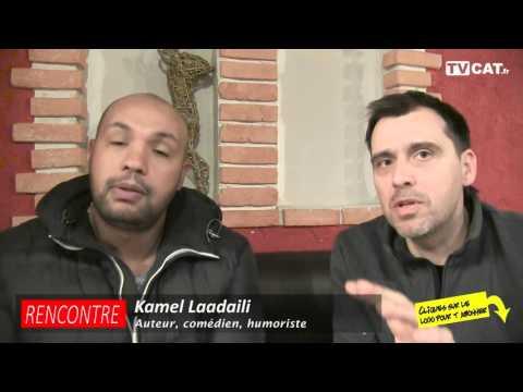 ►Entretien avec le comédien Kamel Laadaili / Perpi Comedy Club - Le Journal Catalan