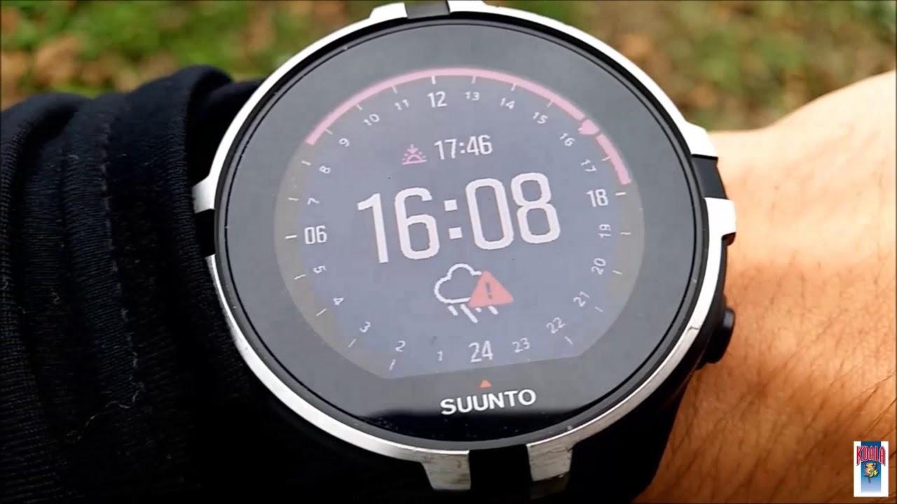 Suunto Spartan Wrist Baro - YouTube