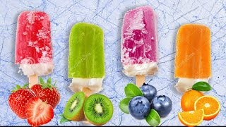 Lets make Delicious Fruit Ice Cream Popsicles