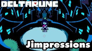 Deltarune - Tales From The Undertale (Jimpressions) (Video Game Video Review)