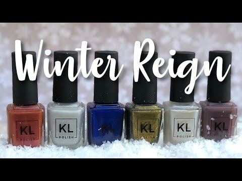 KL Polish Winter Reign 2018 Collection | The Polished Pursuit
