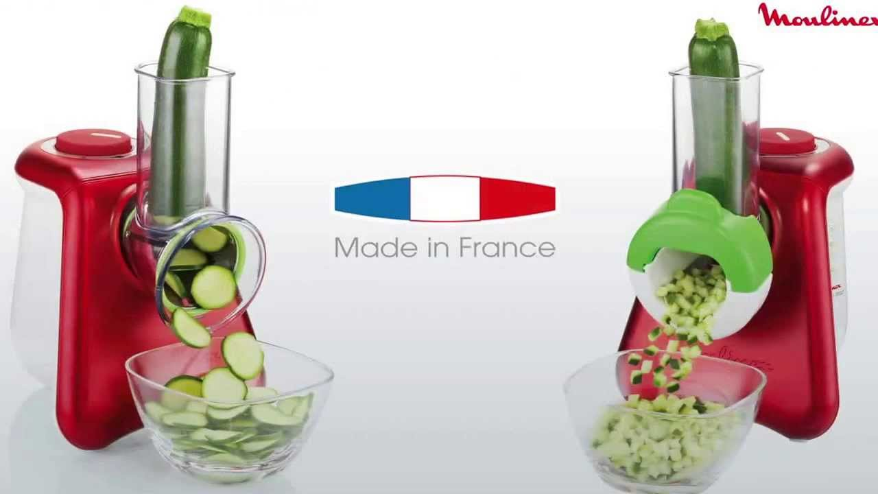 Moulinex fresh express youtube - Appareil julienne legumes moulinex ...