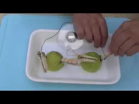 bateria con un limon experimento exelente para mostrarles a los nios youtube