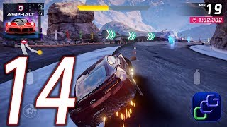 ASPHALT 9 Legend Android iOS Walkthrough - Part 14 - Career: Ch1: Camaro, Ch2: Class D Pro