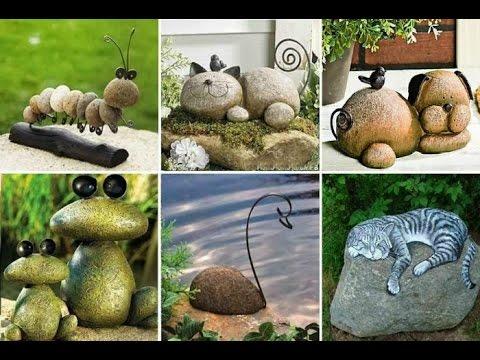 Собираем камни и украшаем сад