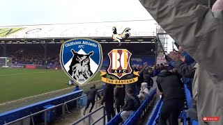 WHAT A WIN!!! Oldham Athletic vs Bradford City Vlog!