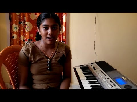 feel my love from aarya on keyboard by s.mythily