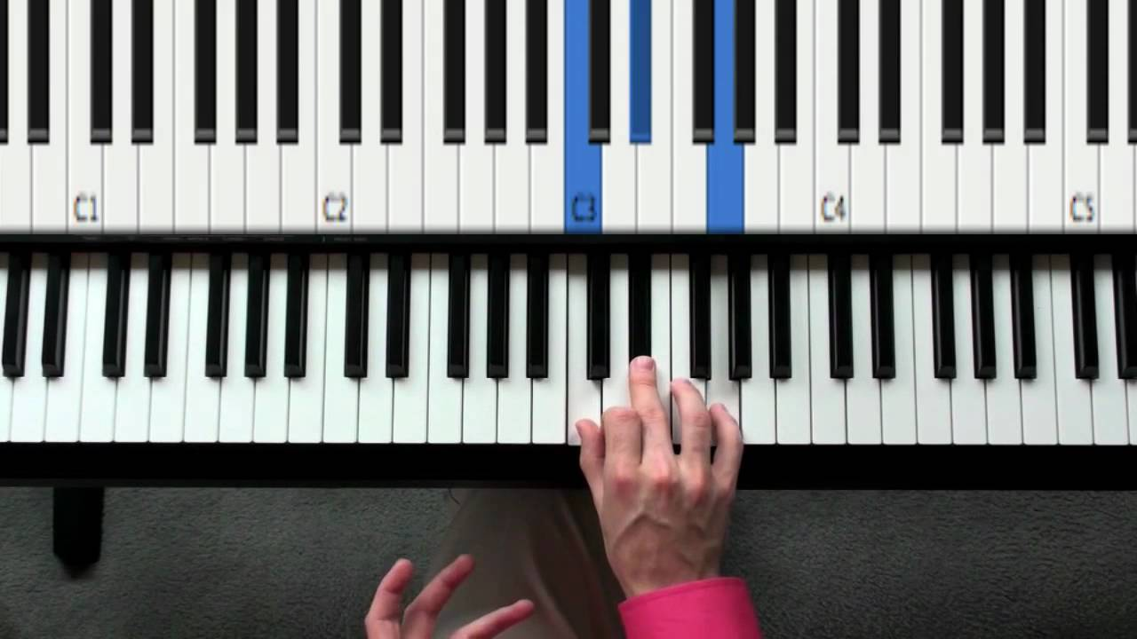 Learn these 12 major minor chords first beginning piano day learn these 12 major minor chords first beginning piano day three youtube hexwebz Image collections