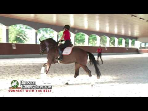 Dressage Training With Catherine Haddad On Training Up The Young Horse