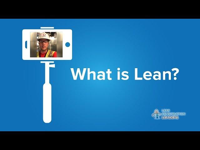 Patrick Hanson - What is Lean?