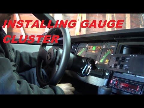 Video 29: 1985 C4 Corvette: Installing Gauge Cluster / Gauge Cluster Installation