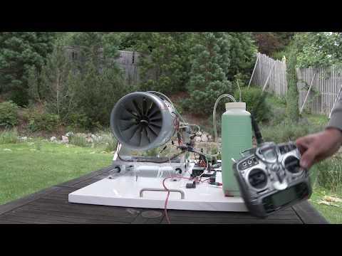 RC Turbofan TF200-1 Prototype