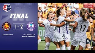 Highlights: Utah Royals FC vs. Orlando Pride | July 14, 2018