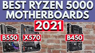 Best Ryzen 5000 Motherboard [2021]   Best Motherboard for Ryzen 5600X, 5800X, 5900X, 5950X