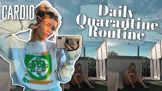 Daily Routine + Sister Quarantine Time + Cardio !!!