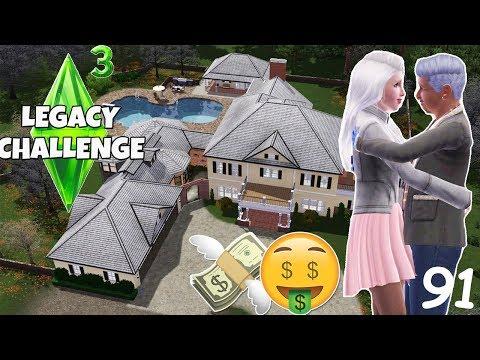 Sie hat einen SUGARDADDY! 🤑 - Die Sims 3 Legacy Challenge Part 91 - simfinity - 동영상