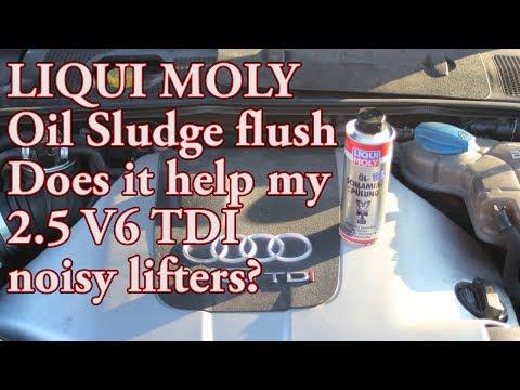 Will Liqui Moly Sludge flush silence my noisy lifters?