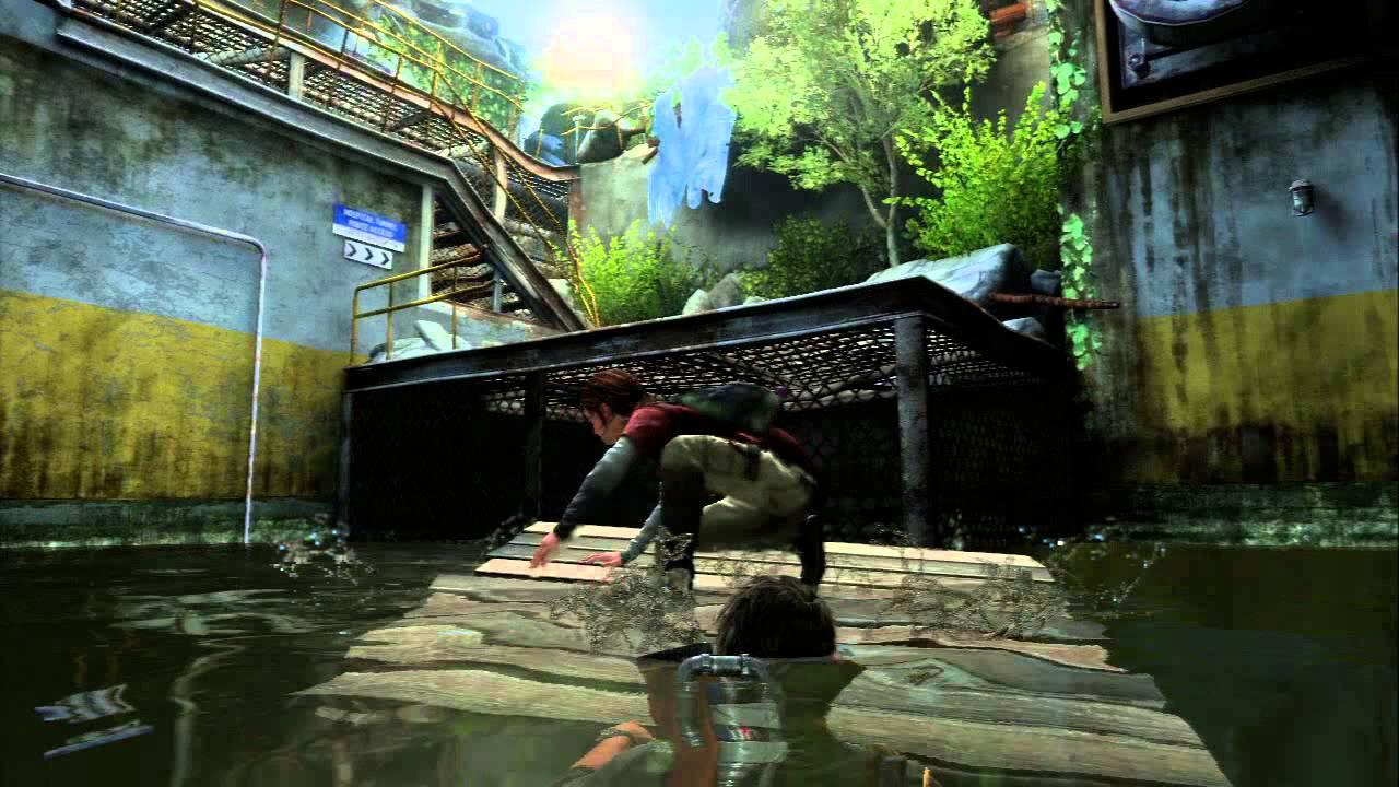 Water Wallpaper Hd Live The Last Of Us Chap 10 Ellie Raft Ladder Breaks