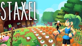 Staxel #01 | Meine kleine Farm | Gameplay German Deutsch thumbnail