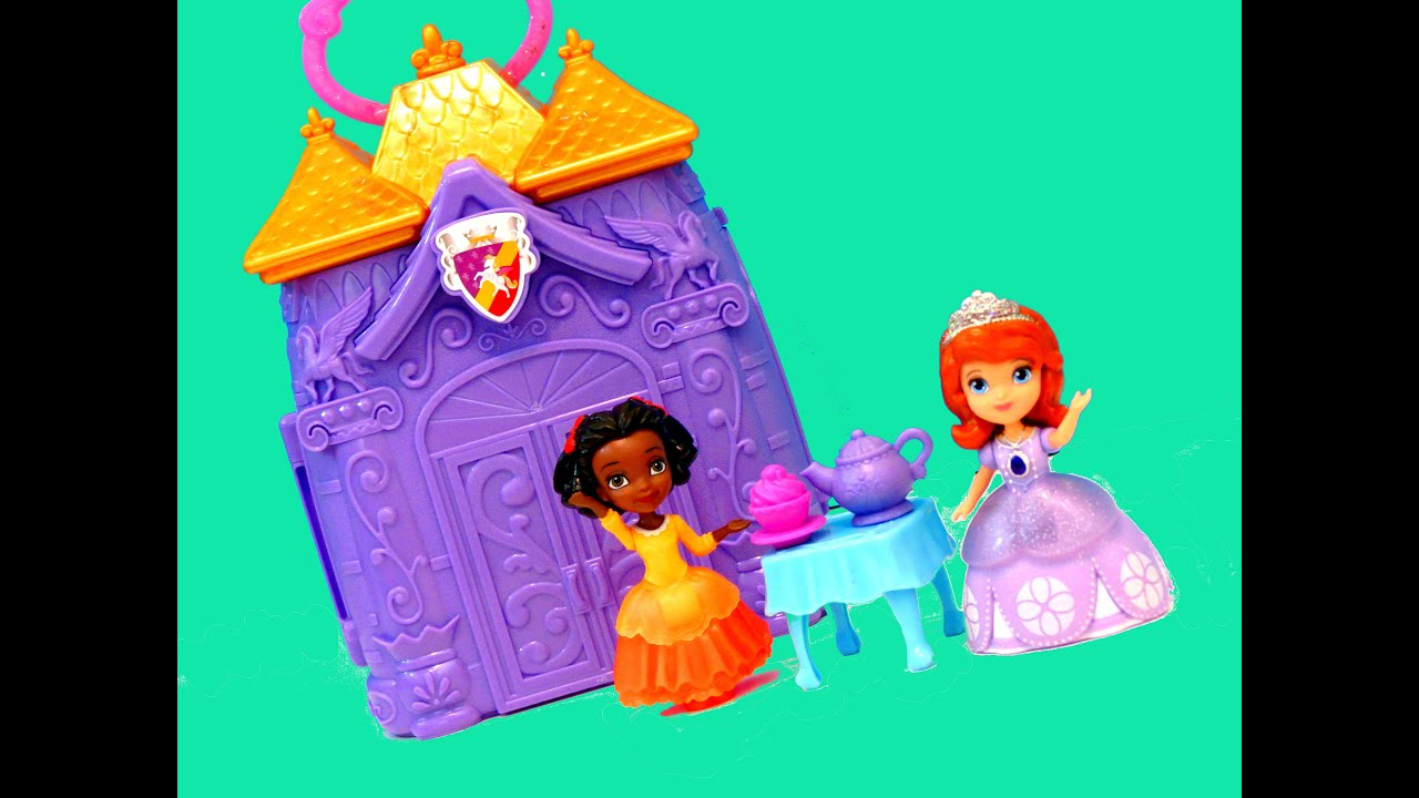 Sofia The First Castle Bedroom Carry Case Playset Disney