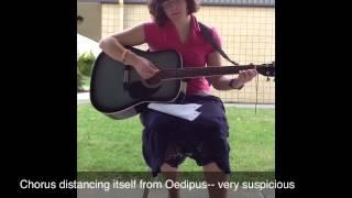 Oedipus Rex character Analysis-- Chorus