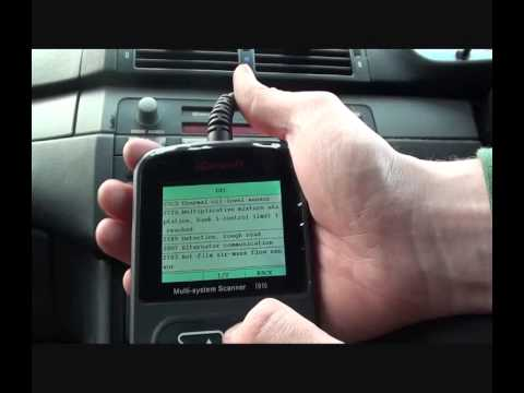 i910 BMW Scan Tool To Diagnose A Check Engine Light or Engine Management Light