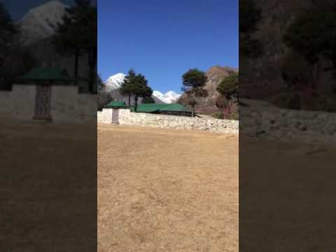 Everest panroma trekking video