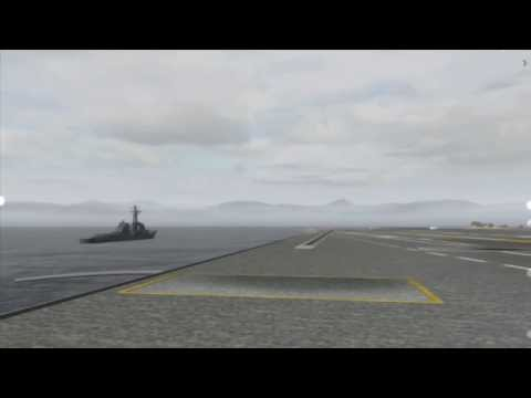 niCe team — Fixed Wing Carrier Qualification - part 1