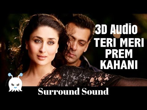 Teri Meri (Reprise) - Bodyguard   3D Audio   Surround Sound   Use Headphones 👾