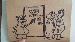 Cartoon : Wifi