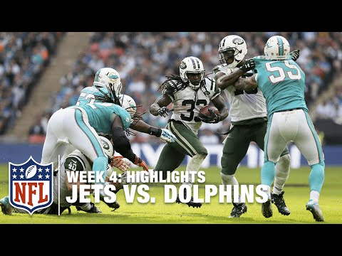 Jets vs. Dolphins   Week 4 Highlights   NFL in London