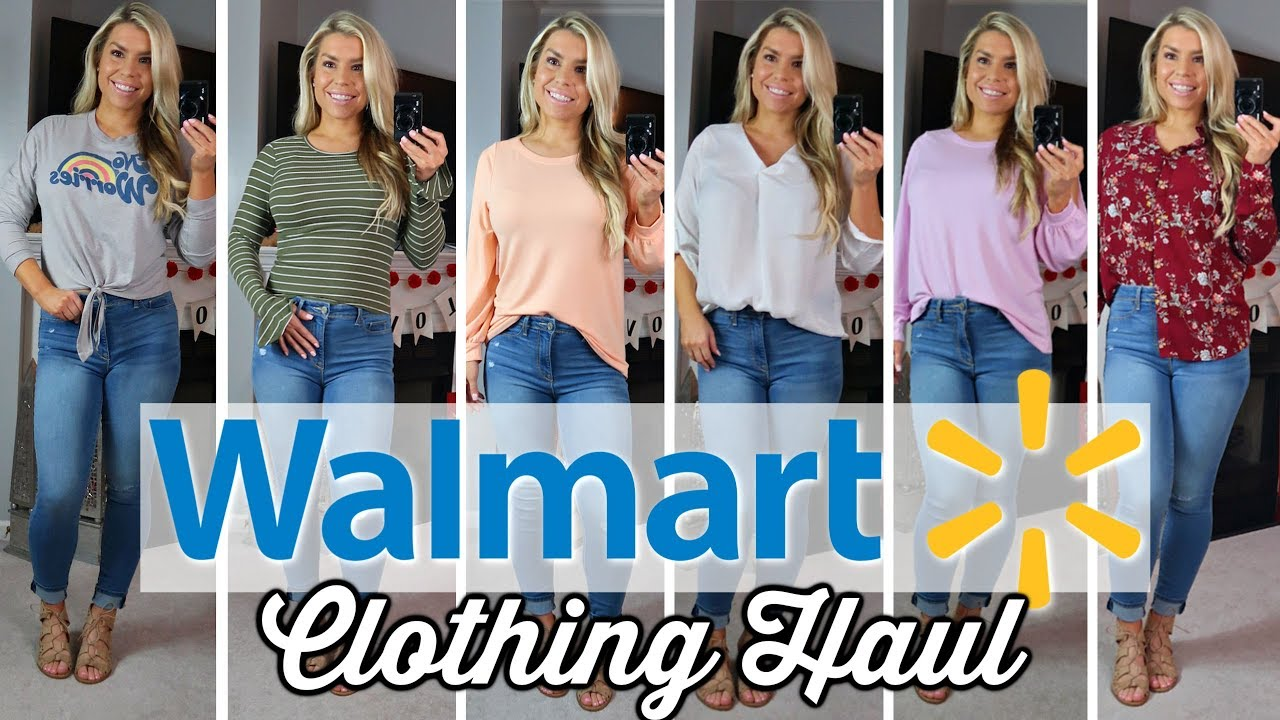 f1c0da9dc51 WALMART  SPRING  TRY ON CLOTHING HAUL