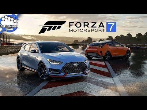 FORZA MOTORSPORT 7 - Hyundai Free Car Pack - Review [german / deutsch]