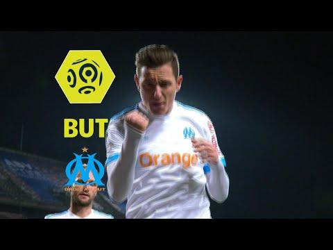 But Florian THAUVIN (45' pen) / Montpellier Hérault SC - Olympique de Marseille (1-1)  / 2017-18