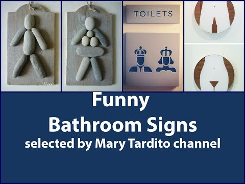 Funny Bathroom Signs Youtube top #10 funny bathroom signs - youtube
