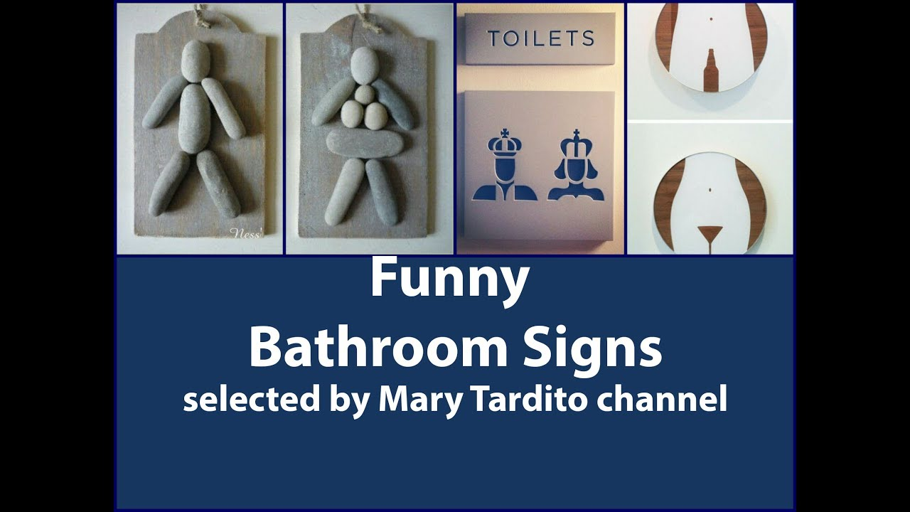 40+ Creative And Funny Bathroom Signs