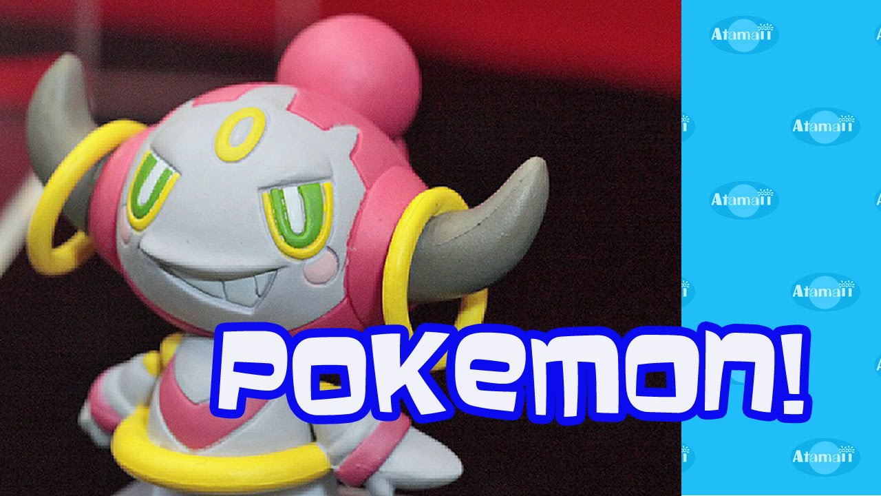 japanese pokemon toys with hoopa youtube