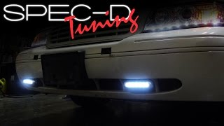 видео led daytime running lights