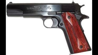 Colt 1911 gunfire sound effect
