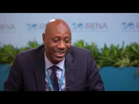 Energy Ministry of Togo Director-General Abbas Aboulaye, at IRENA9A