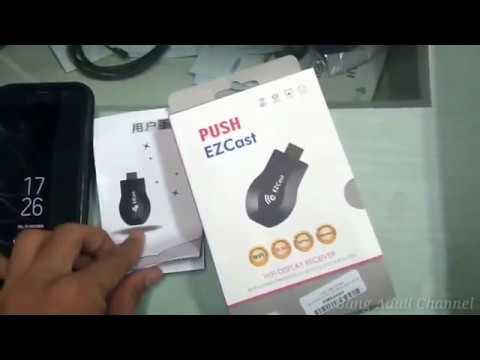 Cara Pemakaian ezCast HDMI Dongle Wifi Display - 1080P