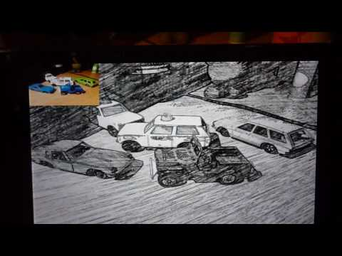 Android : Live Camera Pencil Sketch Effect using RenderScript Intrinsics