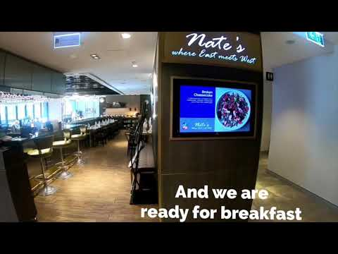 Breakfast Buffet At The Branksome Hotel