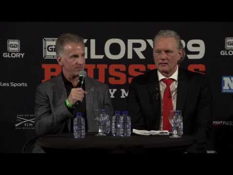 Glory 39 BRUSSELS: Post Fight Press Conference