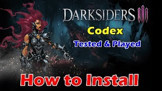 How to Install Darksiders III - Codex | Darksiders 3 Cracked by Codex