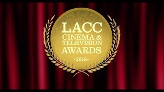 lacc cinema tv awards show 2018
