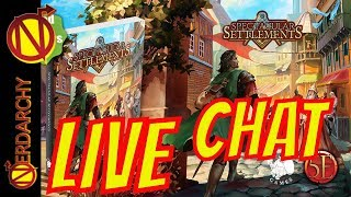 D&D Settlements, Shops, and NPCs with Nord Games- Nerdarchy Live Chat #295